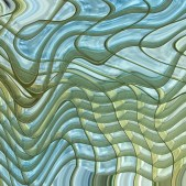 Liquified Grid by Mary Jane Fish