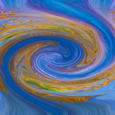 Swirling Colors by Carla Steckley