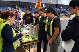 Going through robot inspection
