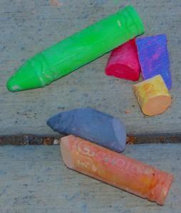 Chalk: Now Illegal in Las Vegas
