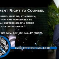 Las Vegas Know Your Rights Seminar by Attorney Stephen Stubbs to be Held March 23rd
