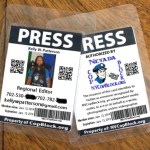 Front and Back Examples of Cop Block Press Passes