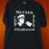 Nevada Cop Block T-shirt