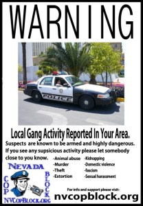 Beware of Local Gang Members in the Las Vegas Area