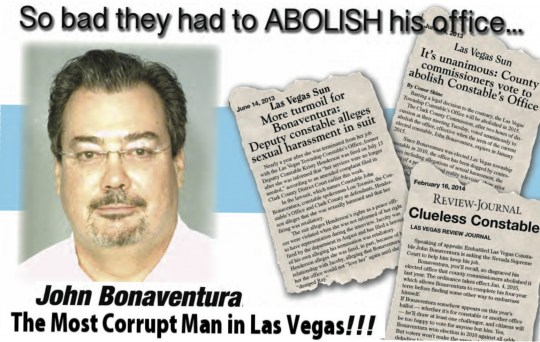 John Bonaventura, the Most Corrupt Man in Las Vegas