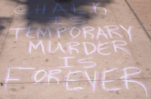 Chalk is Temporary, Murder is Forever