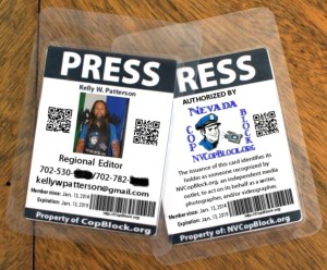 Now you can get an official Cop Block press pass