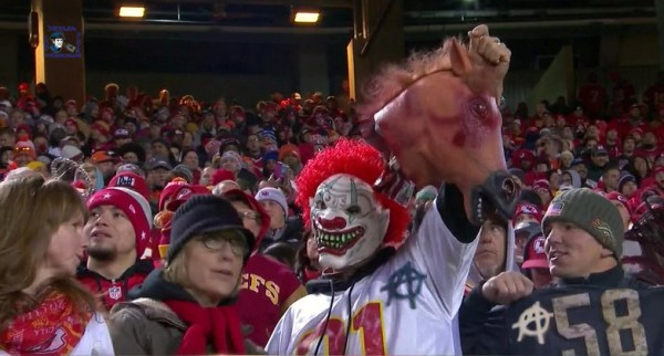 Scary Creepy Anarchist Clowns Halloween Threat