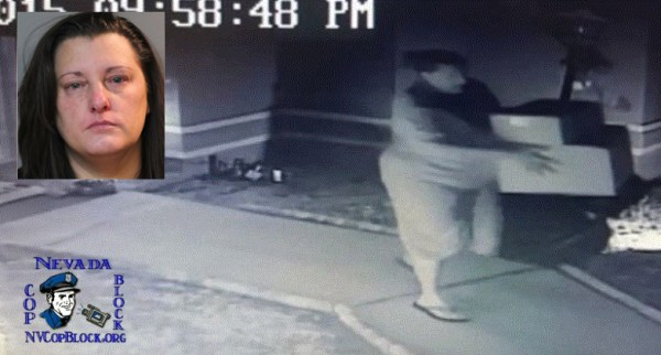 Florida Cop's Wife Caught on Video Stealing Gifts From Neighbor