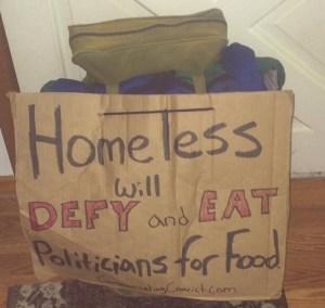 Homeless Food
