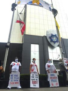 Oakland Police Department Protest