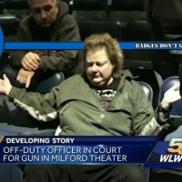 Drunk Off-Duty Cincinnati Cop Causes Panic by Dropping Her Gun While Harassing People in a Movie Theater