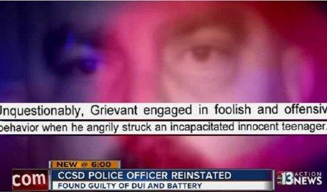 Las Vegas School Police DUI Russo
