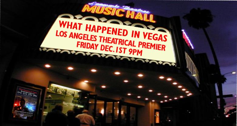 Documentary What Happened in Vegas Ramsey Denison Laemmle Los Angeles Premier