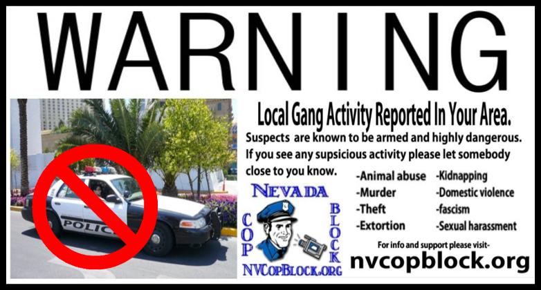 Beware gang activity in your neighborhood