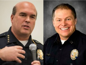 Henderson NV Police Chief Patrick Moers Deputy Chief Bobby Long