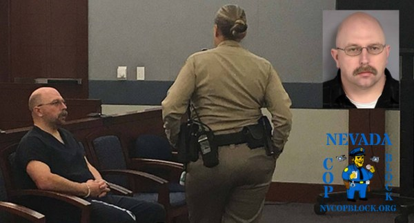 Officer Bret Theil LVMPD cop charged with dozens of counts related to the sexual abuse of a child