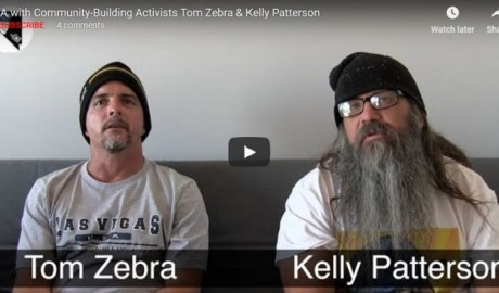 Tom Zebra and Kelly Patterson Interview with Pete Eyre for Nevada Cop Block