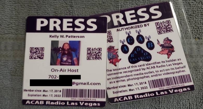 Independent Media Press Pass