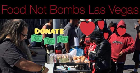 Food Not Bombs Las Vegas on Foremaster and Main