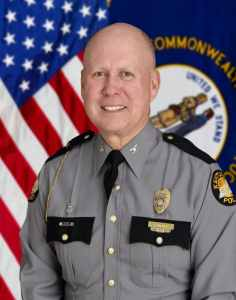 Kentucky State Police Commissioner Rodney Brewer