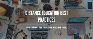 Distance Education Best Practices image