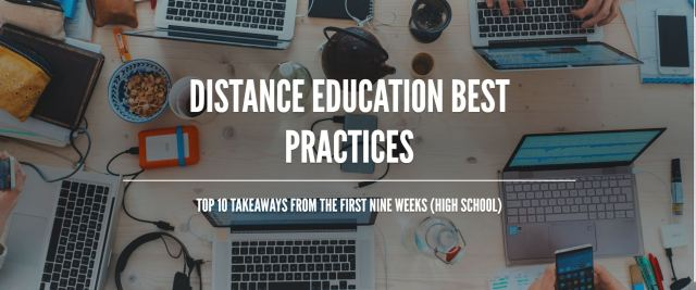 Distance Education Best Practices image
