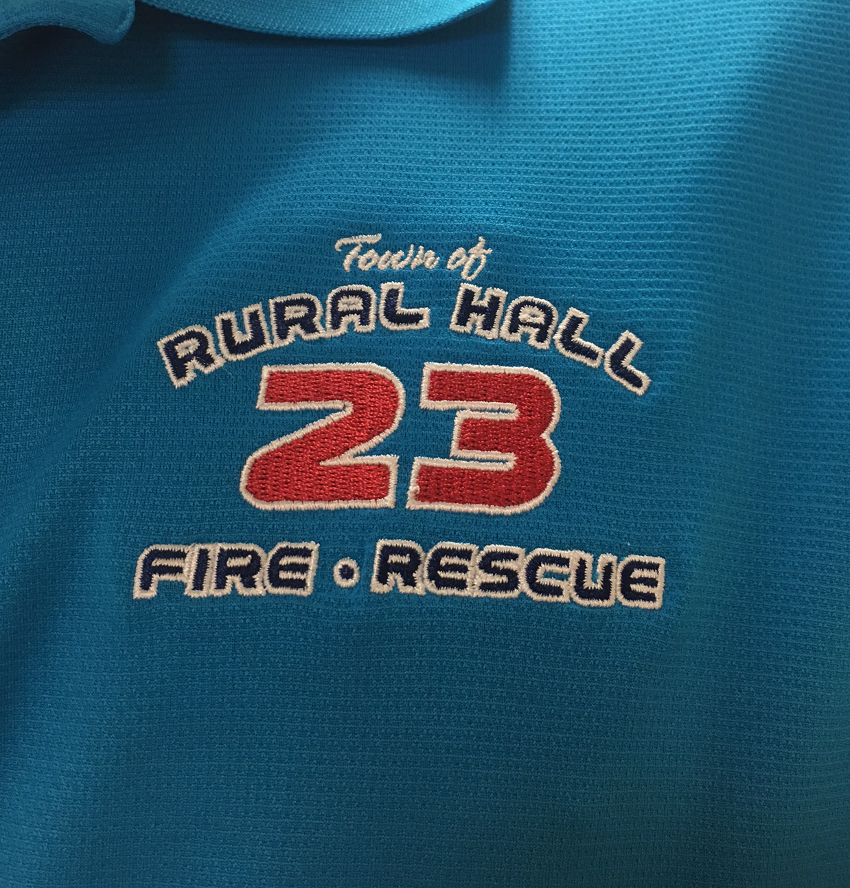 Rural Hall Fire Department Embroidery Nvizion Inc T Shirts