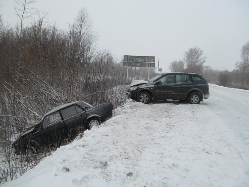 ДТП на 59 километре дороги Каменноозерное – Медногорск