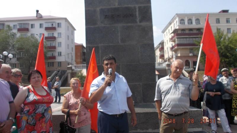 С.С. Гусейн призывает народ бороться и дальше