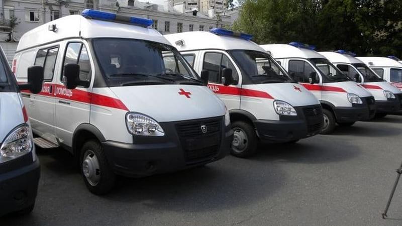 Новая карета скорой помощи