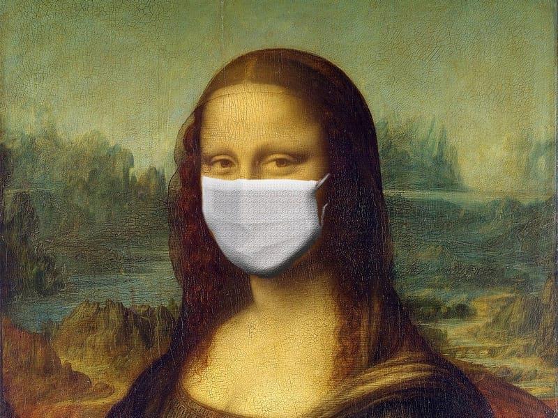Мона Лиза в маске