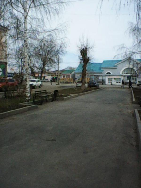 Привокзальная площадь Медногорска