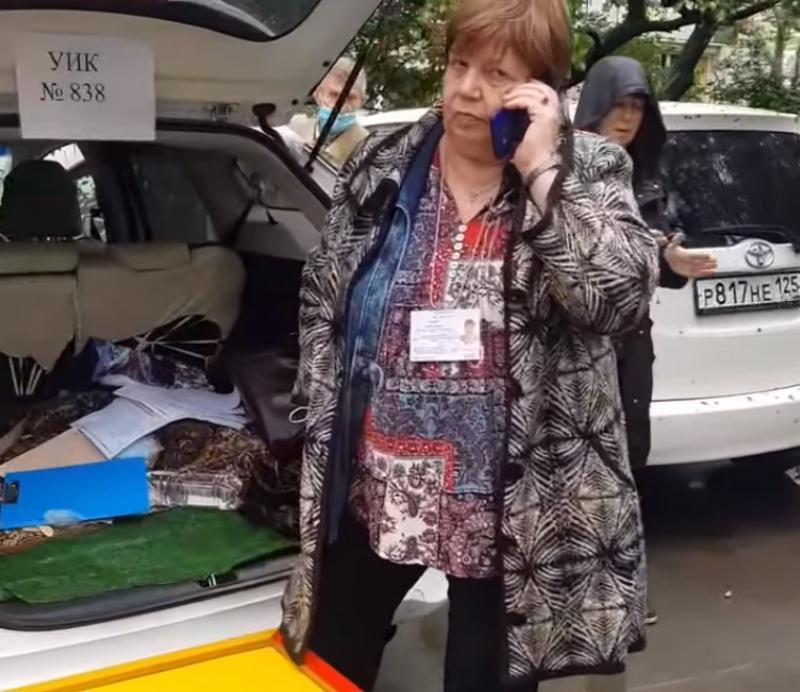 УИК в багажнике (Владивосток).