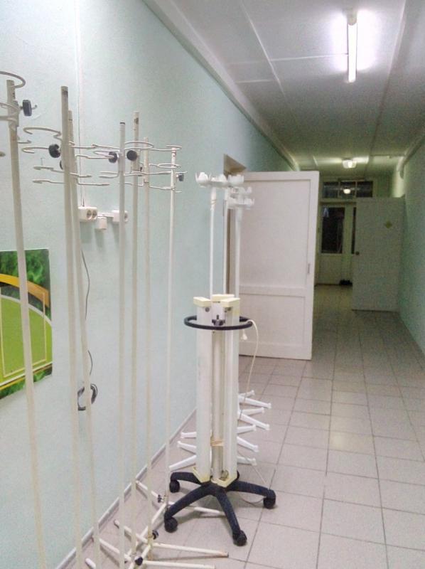 Капельницы и кварцевое оборудование для пациентов с вирусом Ковид в Кувандыке