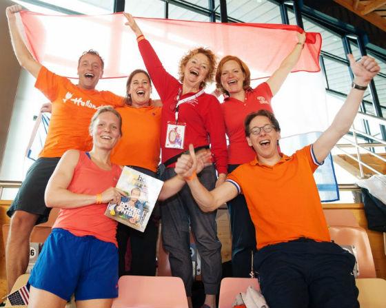 relais pour la vie with team holland