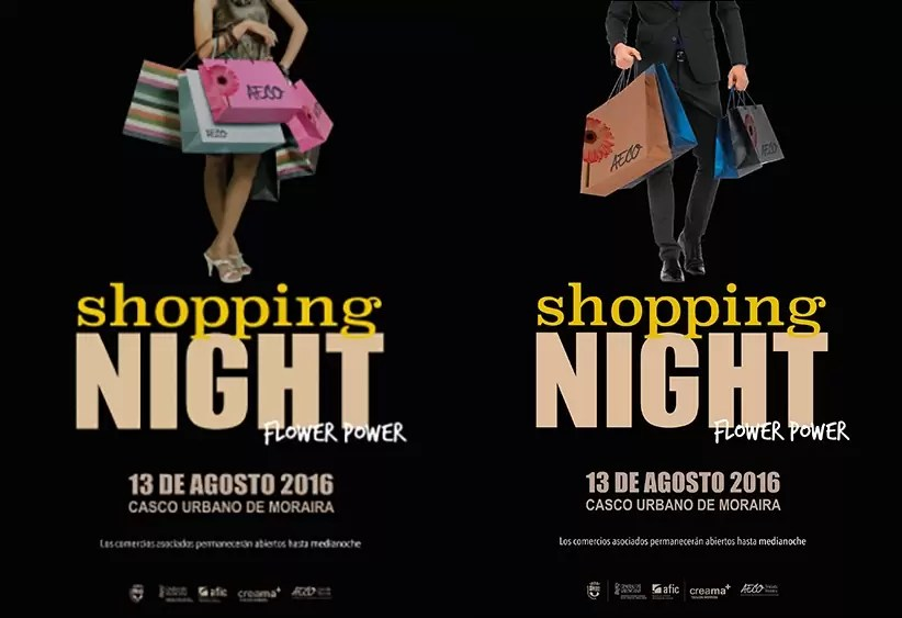 Shopping Night Moraira 13 aug.