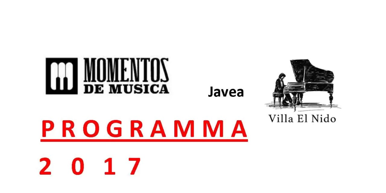 Momentos de Musica programma 2017