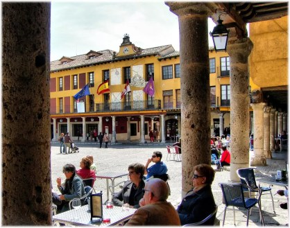 Plaza Mayor in Tordesillas