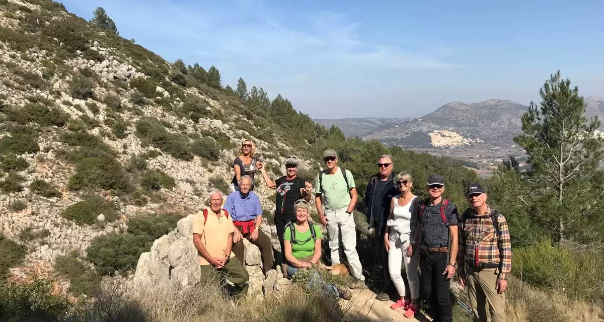 Verslag bergstappers plus 17 februari 2018