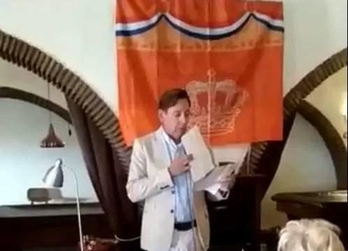 Toespraak Michel Rosenberg tijdens Koningsdag!
