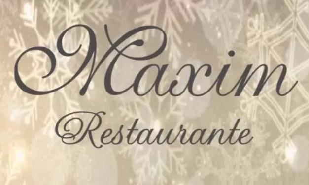 Kerstlunch bij Restaurante Maxim