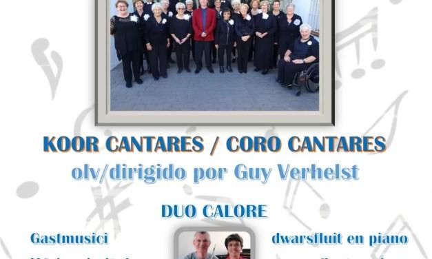 Concert Cantares 15 februari 2020