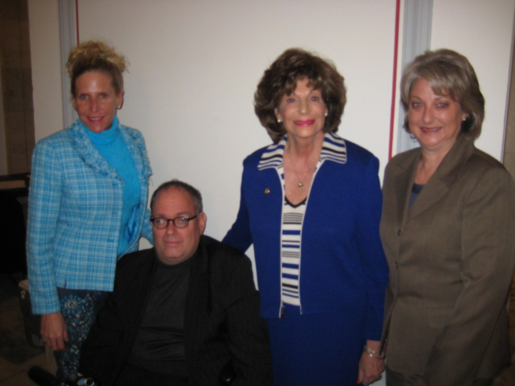 Sam Lieberman with others