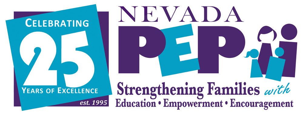 PEP Logo with 25 Year Branding