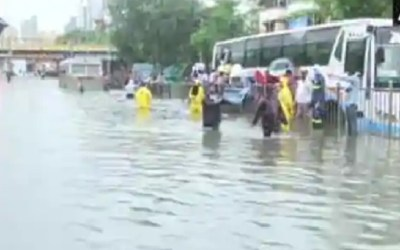 Train service affected due to heavy rains