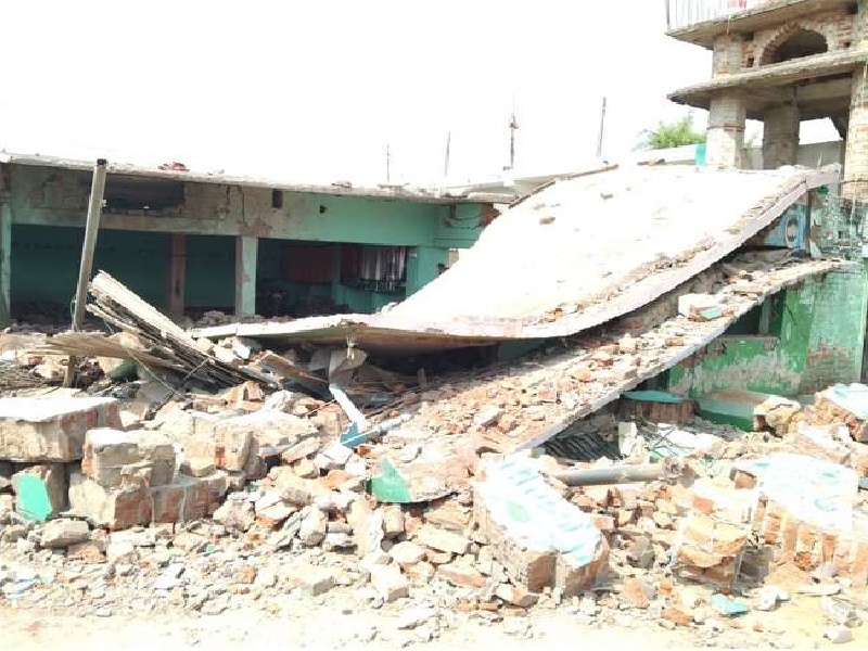 Bomb Blast near mosque in banka