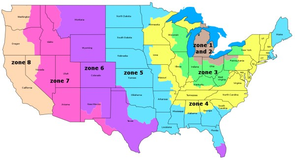 Usps Zone Map | Car Interior Design