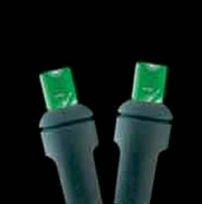 5mm 50L 6 inch spacing Green