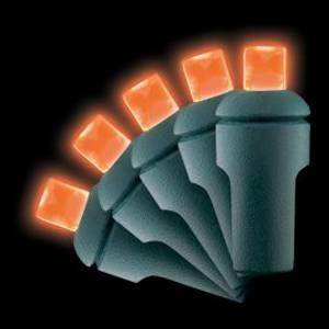 5mm 70L Orange LED Christmas Lights